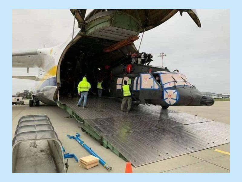 Руслан доставив у Філіппіни п'ять Чорних Яструбів