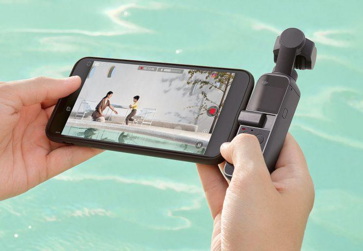Использование DJI Osmo Pocket 2 со смартфоном