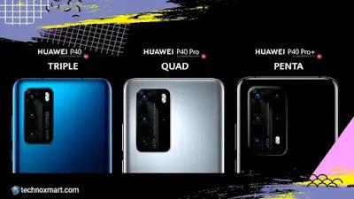 huawei p40 series, huawei p40 5g, huawei p40 pro 5g, huawei p40 pro plus 5g launched