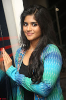 Megha Akash in a beautiful Anarkali dress with Long Jacket at LIE success meet ~  Exclusive Celebrities Galleries 013.JPG