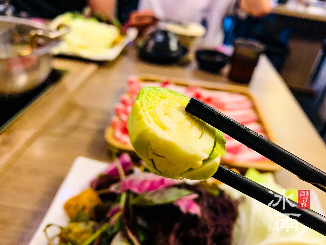 築湘養生麻辣火鍋店|菜盤近照