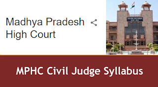 MPHC Civil Judge Syllabus