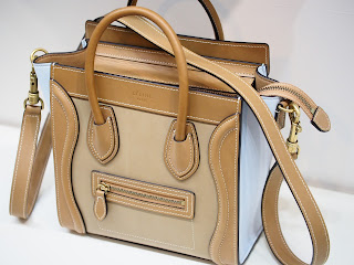 セリーヌ ラゲージ ナノショッパーを買い取り致しました ブランドバッグを出来る限り高く査定致します