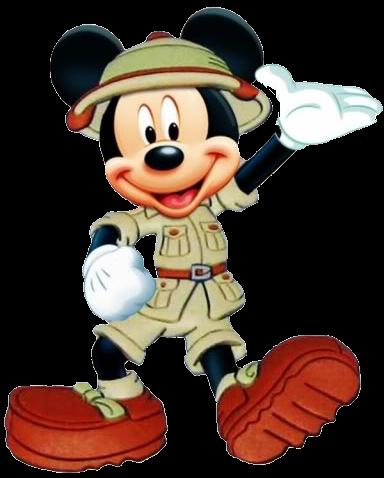 Festa Mickey Safari Imagens E Fundos Para Personalizar Guia