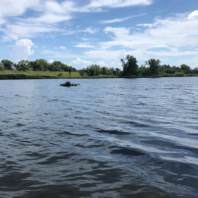 Serenity at the lake at Peck Farm.