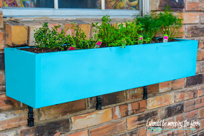 Easy DIY Window Box