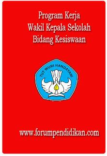 Program Kerja Wakil Kepala Sekolah Bidang Kesiswaan