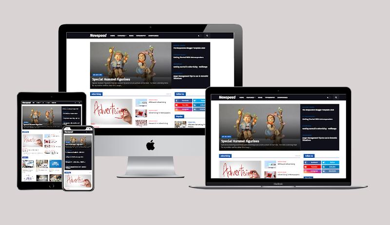 Newspeed Premium Professional News Blogger Template Clone theboegis - Original Version - Responsive Blogger Template