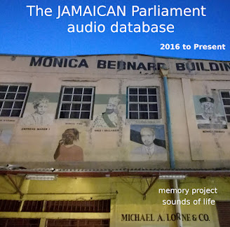 The Jamaican Parliament Audio database (JPAD) by dj Afifa