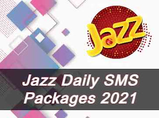 Jazz SMS Packages | Daily | Weekly | Monthly (Updated 2021)