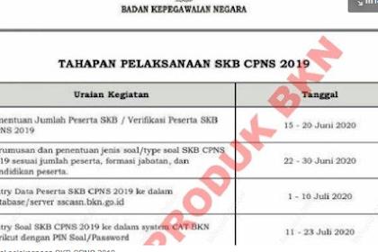 Benarkah Test SKB CPNS 2019 akan dilaksanakan Pada Tanggal 10 Agustus Tahun ini?