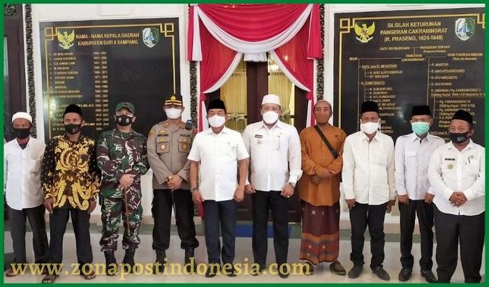 Kepala Staf Kepresidenan RI Jenderal TNI (Purn) Moeldoko, Lakukan  Kunjungan Kerja Di Kabupaten Sampang Madura