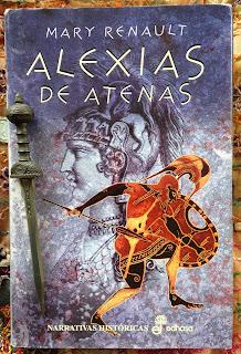 Portada del libro Alexias de Atenas, de Mary Renault