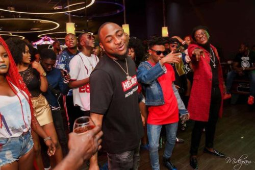 Watch The Moment Davido Prevented A bouncer From Harassing A Fan At His Show In Turkey