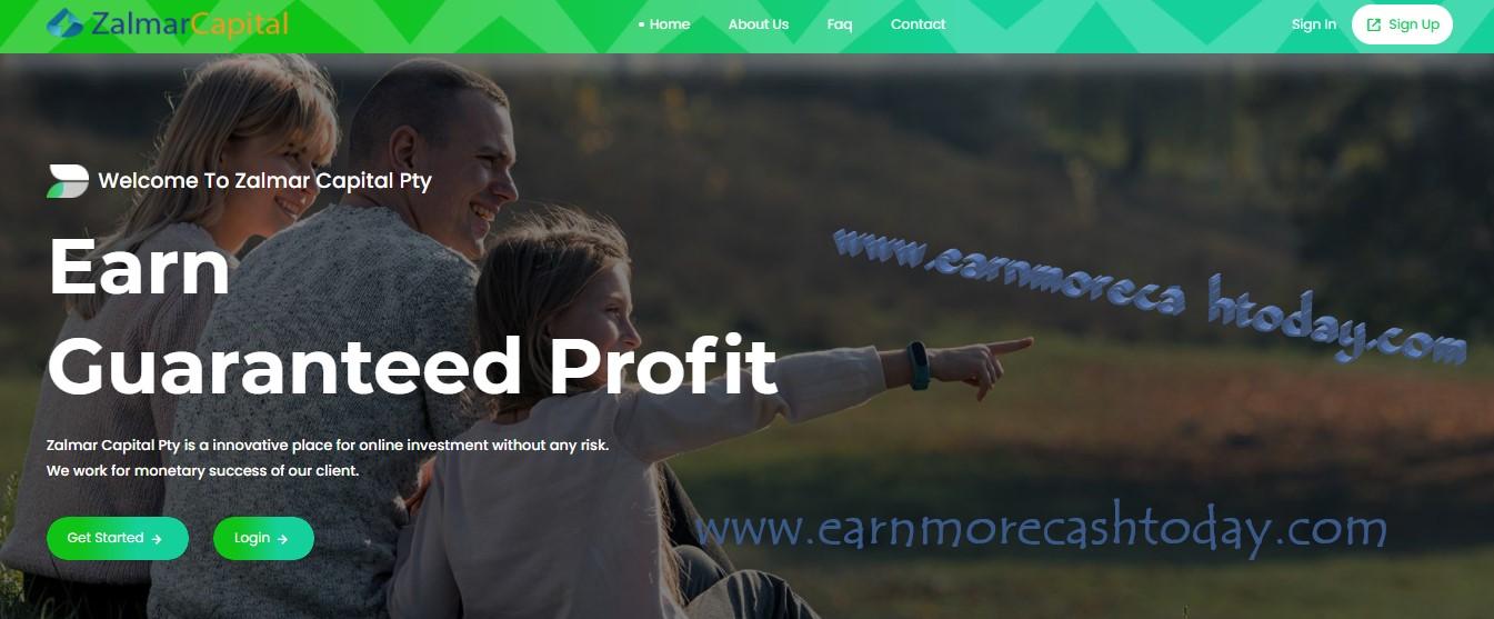 Zalmar Capital Investment Review : Is Zalmar Scam Or Legit