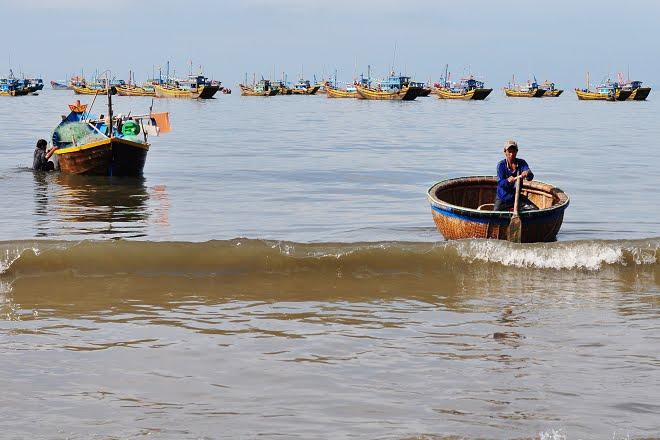 看海的日子:MuiNe漁市