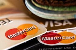 Imagem de cartões de crédito.