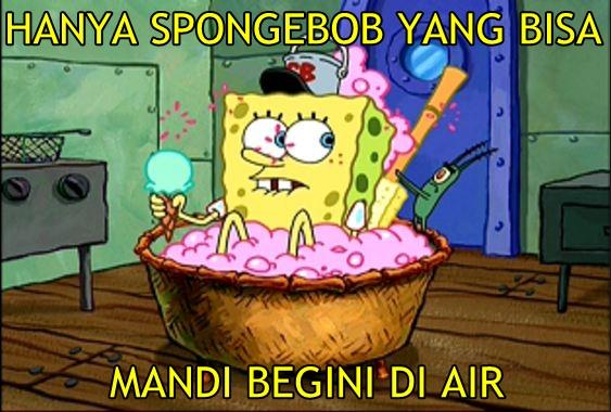 11 Meme Spongebob Kocak Banget Logika Berpikir Kamu Bakal Diuji