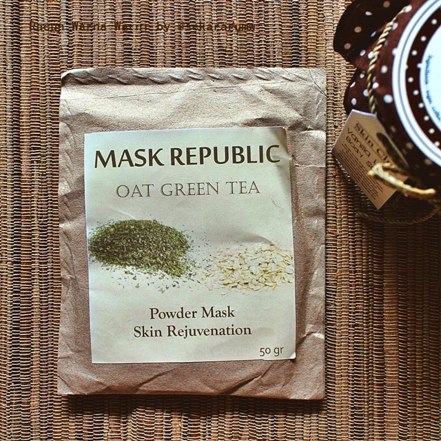 Oat Green Tea Mask