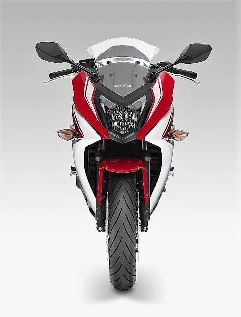 Honda CBR650F front