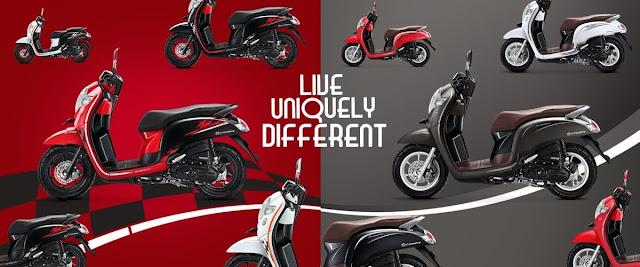 Honda Scoopy - Dealer Honda Made Ferry Motor - Bali
