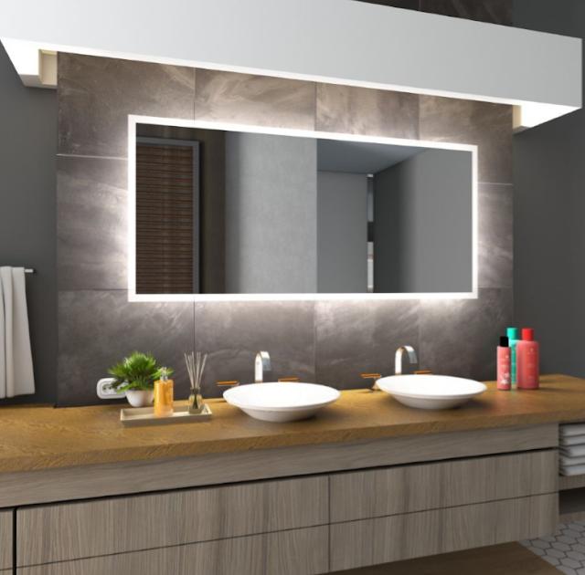 Modern Bathroom Cabinet With Mirror Designs