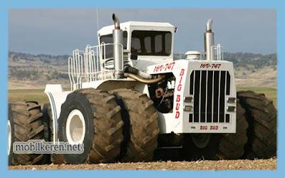 Big Bud 747, truk besar, mobil truck terbesar di dunia