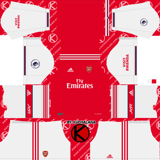 quality design 9bafd a9f8c Arsenal 2019/2020 Kit - Dream League Soccer Kits - Kuchalana