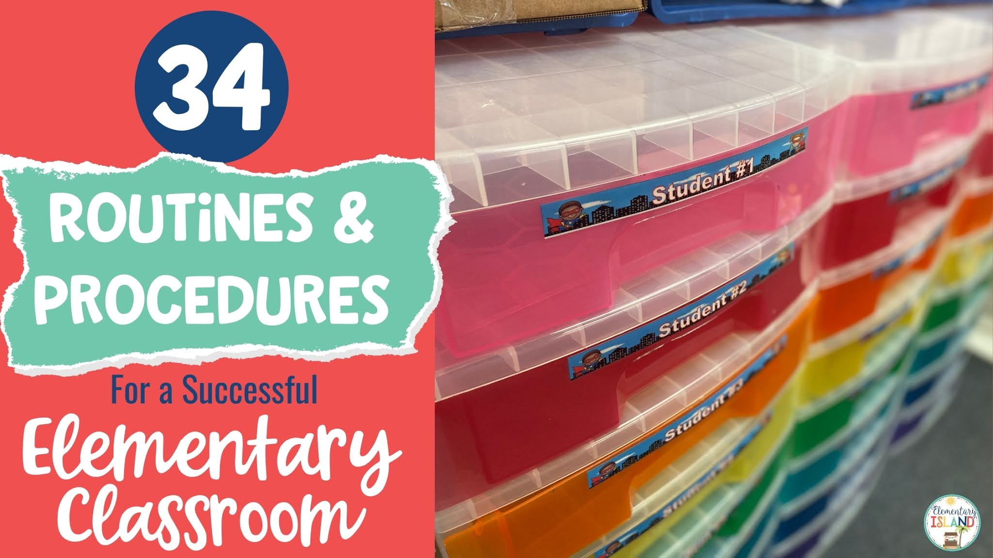 32 Important Procedures and Routines for a Successful Elementary Classroom