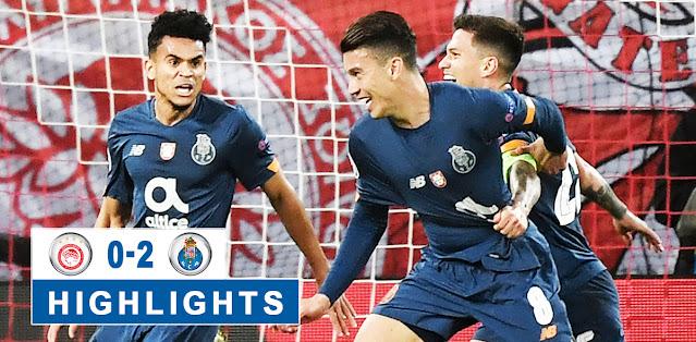 Olympiakos Piraeus vs Porto – Highlights
