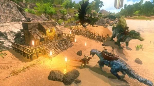 Download ARK Survival Evolved Mod Apk Unlimited Amber