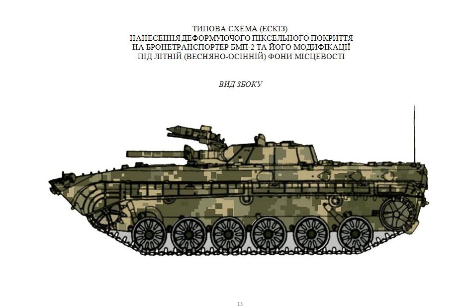 У наказі Хомчака БМП-2 переплутали із БМП-1 та ще й назвали бронетранспортером