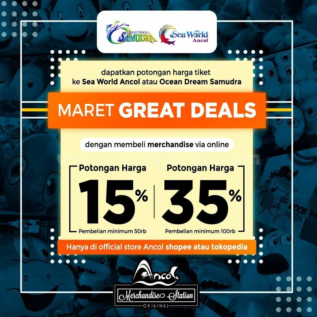 Promo Sea World & Samudra Ancol Maret Great Deals! Diskon Hingga 35%