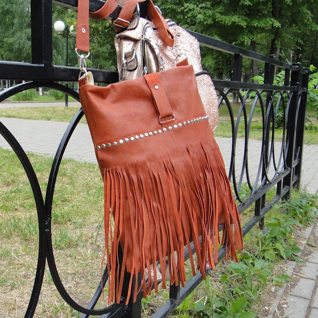Женская сумка кожа -  ручная работа, единственный экземпляр. Полностью на подкладке с двумя внутренними карманами