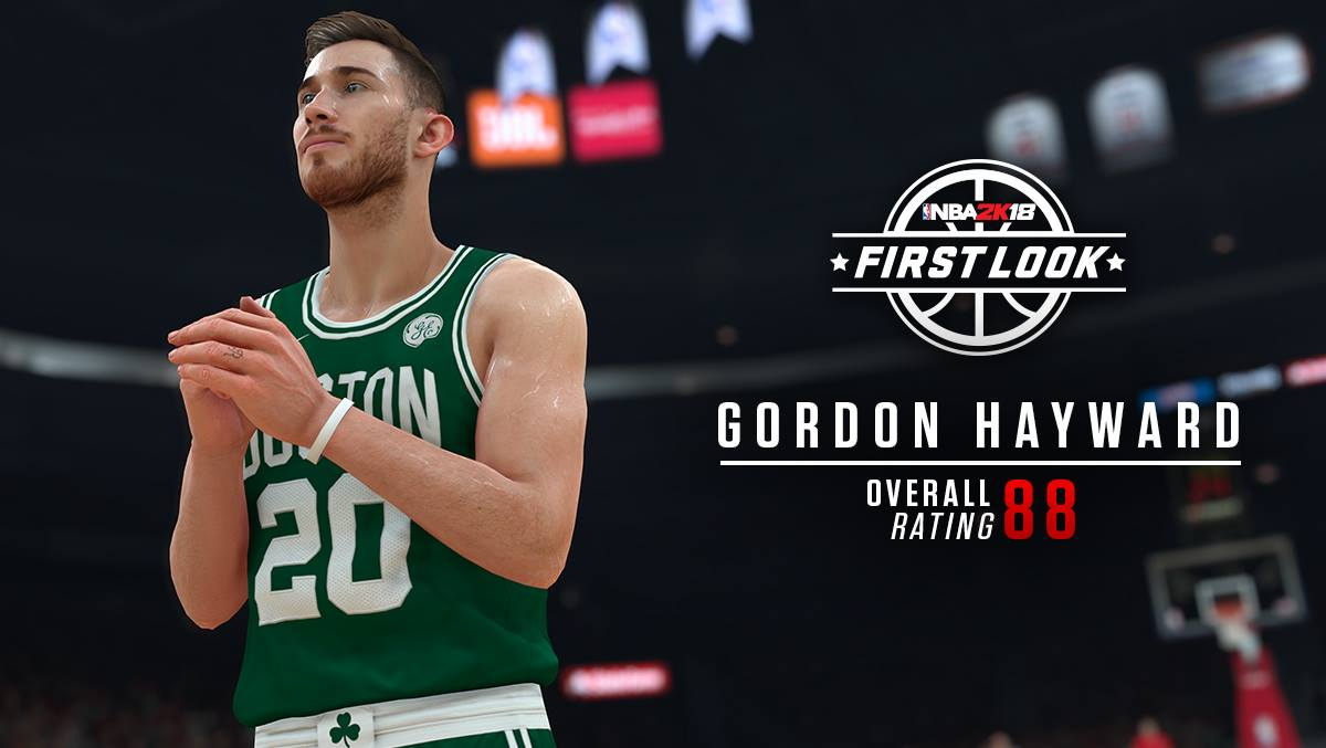 Is Gordon Hayward's NBA 2k18 overall rating justified, or is it too low? | CelticsLife.com ...