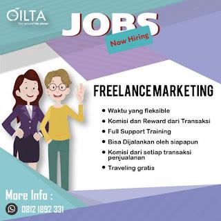 Info Lowongan Kerja Freelace Marketing Olita Tour