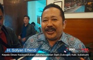Kadisdukcapil kabupaten sukabumi, Sofyan Effendi