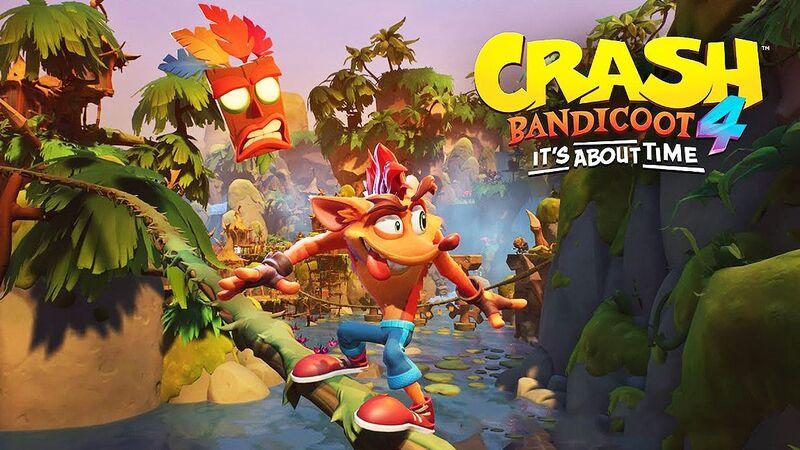 Crash Bandicoot 4: It's About Time - Ο Θρύλος Επιστρέφει!!