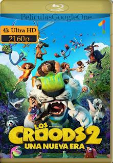 Los Croods 2: Una nueva era (2020) [4k WEB-DL HDR] [Latino-Inglés] [LaPipiotaHD]