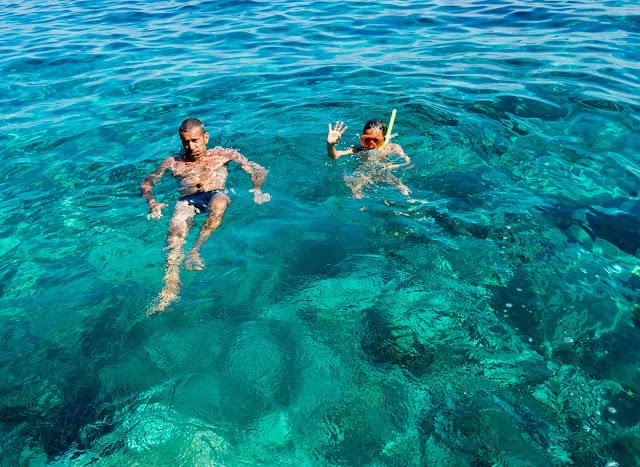 Acqua smeraldo, Ponza @Valeriaderiso