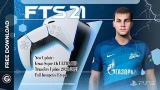 Download FTS 21 Android Offline Special PlayStation 5 (PS5) Edition Best Graphic New Kits & Update Transfer 2020/21