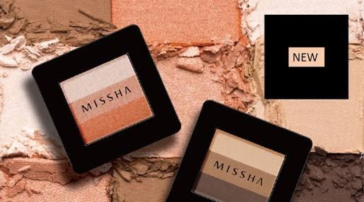 Review Missha Triple Eyeshadow - Orange Parade