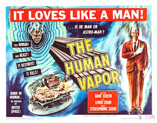 Poster de The Human Vapor (GASU NINGEN DAI ICHI- GÔ) 1960
