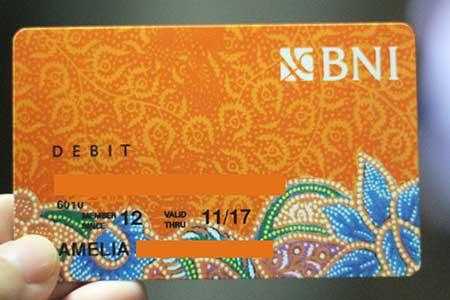 Biaya Admin Bulanan Pengelolaan Kartu ATM BNI