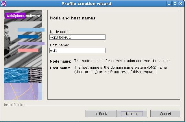 WAS New Profile creation in Linux