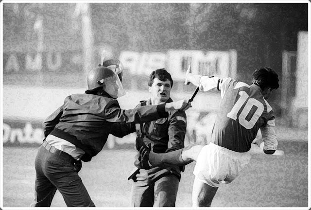 Boban Zvonimir Dinamo Zagreb Red Star 1991 Maksmir