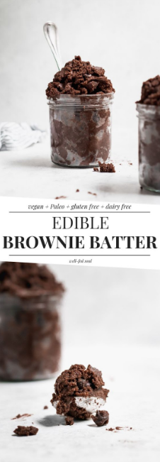 Paleo Edible Brownie Batter
