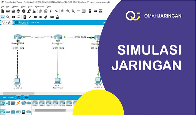 Pengertian dan Konfigurasi Routing OSPF di Cisco Packet Tracer