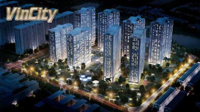 Hình ảnh mô phỏng dự án VinCity