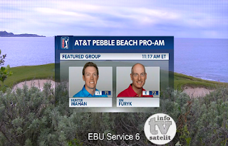 AT&T Pebble Beach Golf Pro-Am AsiaSat 5 Biss Key 9 February 2019